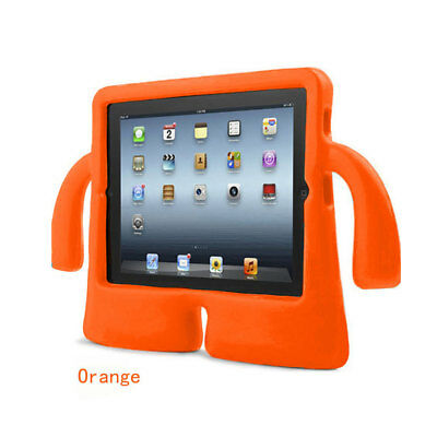 For Apple iPad 2/3/4 Tablet Shockproof Armor Bumper Handle Stand Case Cover Kids