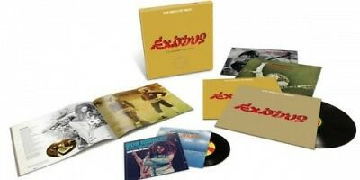 BOB MARLEY & THE WAILERS Exodus (The Movement Continues…) 40th Anniversary 4x L