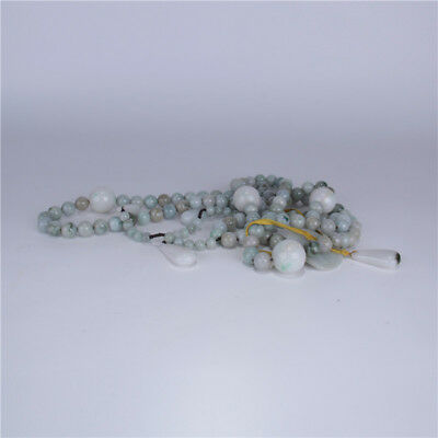 Rock Crystal Jadeite Beads Chaozhu Court Necklace