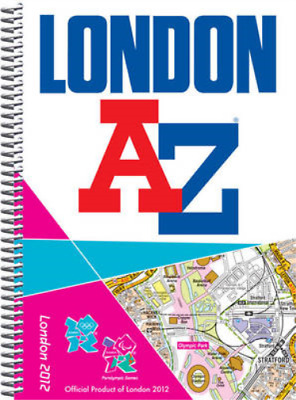 London 2012 Street Atlas (London Street Atlases), Geographers A-Z Map Company, U
