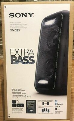 SONY Extra Bass Bluetooth Speaker Audio System High Powerful GTK-XB5 BRAND NEW