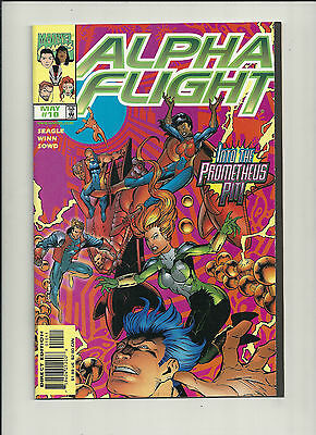 Alpha Flight #10 NM  Vol 2