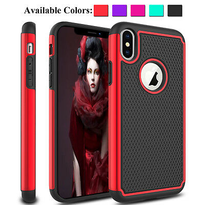For Apple iPhone Xs Max / XS / XR 2018 Phone Case Shockproof Hybrid Rugged Cover