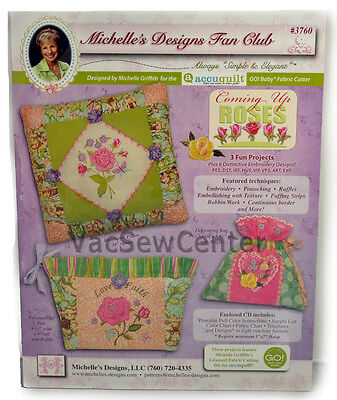 Michelle's Designs Fächer Club Coming Up Roses, MD3760