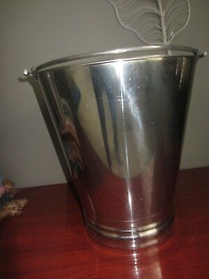 Stainless Steel Ice Bucket for champagne/wine/beer BELLA VISTA EUC