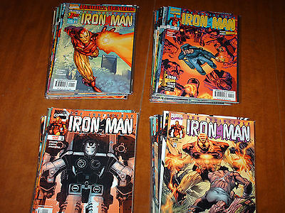 First 40 Consecutive issues of Iron Man Vol. #3 by Kurt Busiek and more