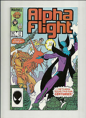 Alpha Flight #21 NM-