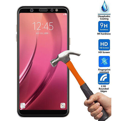3D Full Cover Tempered Glass Screen Protector For Samsung Galaxy A6 A8/A8+ 2018