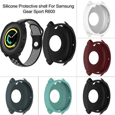 Soft Silicone Watch Case Protector Cover For Samsung Gear Sport R600 Smart Watch