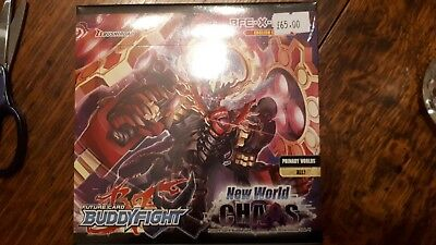 Future Card Buddyfight TCG - New World Chaos Volume 4 Boosters x 30