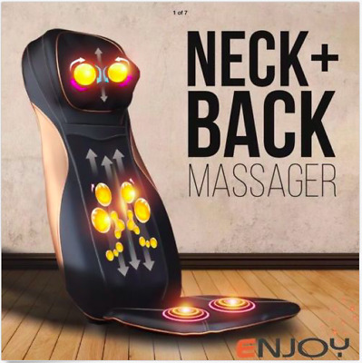 Luxury Multi-Functional Neck & Back Massage Chair/Cushion