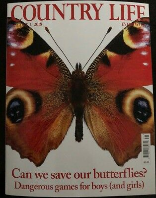 Country Life Magazine August 1 2018 - Can We Save Butterflies?