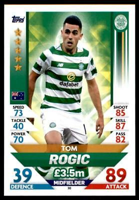 Match Attax SPFL 2018/19 Tom Rogic Celtic No. 30