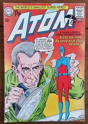 The Atom 16, Dc Comics, January 1965, Vg