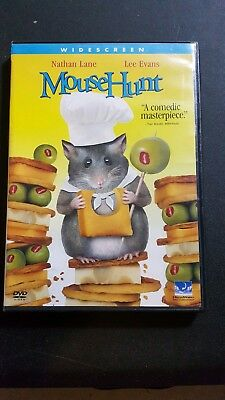 Mouse Hunt very good DVD /Dolby Digital, Dolby, Widescreen Nathan lane mouse