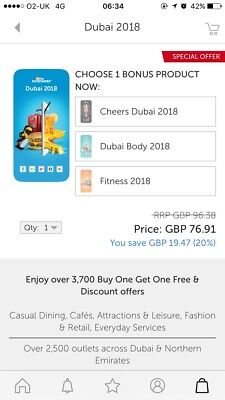 dubai entertainer vouchers 2018