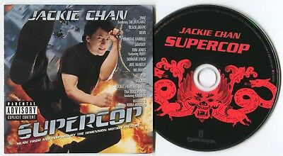 [Bee Gees Cover] Supercop (Music From The Motion Picture)~1996 Us 15-Track Cd