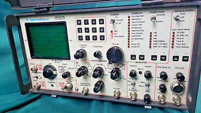 Motorola R-2001D Wireless Radio Communication System Analyzer Service Monitor