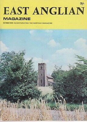 East Anglian Magazine October 1970, Borley Rectory, Framlingham, Hintlesham