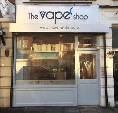 Vape Shop Chain Stores For Sale South East/Kent Rare Opportunity