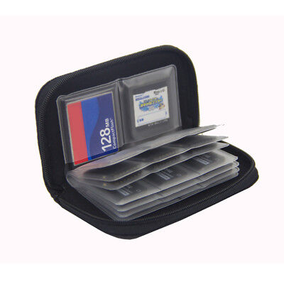 22 Slots Waterproof Carrying Case SD Cards Protecter Wallet Memory Card Storage
