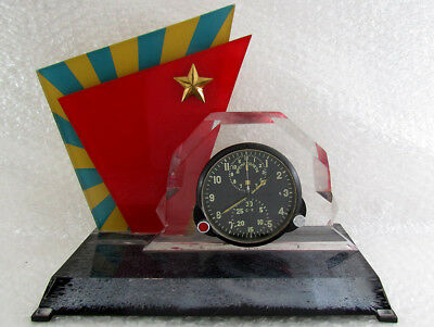 AChS-1M Chronograph USSR Russian Airrcraft MIG-19 Helicopter Mi-8 Panel Clock