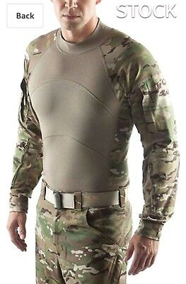 Massif USG ARMY MILITARY COMBAT SHIRT (ACS) Flame Resistant Multicam OCP: Large