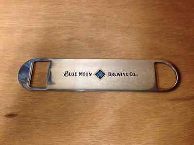 "Blue Moon Bottle Opener Metal Wrench Style ~ 7"" Long ~ NEW & Free Shipping"