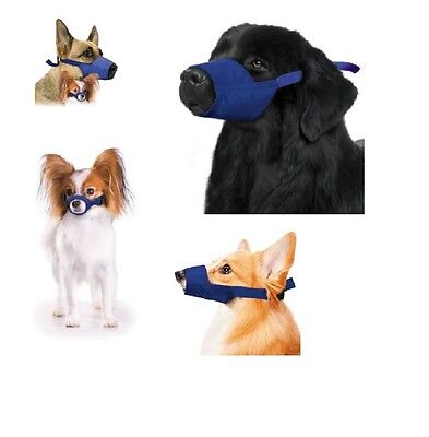 Quick Dog Muzzle for Dogs - XS - XL - Durable water Dirt resistant Set 5pc