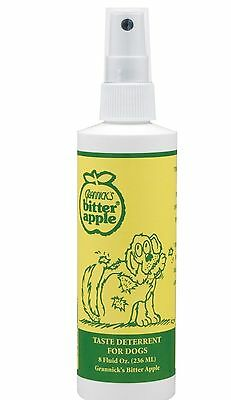 GRANNICKS Bitter Apple Spray for Dog - 16oz Habit breaker training aid