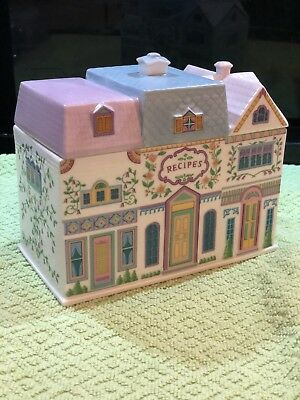 The Lenox Village 1994 Recipe Box