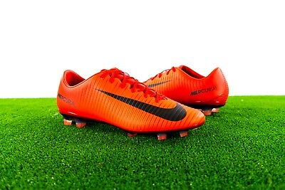 758d5cf3157 Nike Mercurial Veloce III FG Mens Red Soccer Cleats Size Multi-Size (847756-