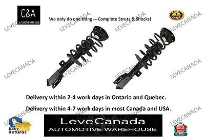 (2)Front Quick Complete Strut & Coil Spring Assembly fit 10-16 Chevrolet Equinox