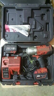 "Milwaukee M18 FUEL brushless 1/2"" high torque impact wrench"