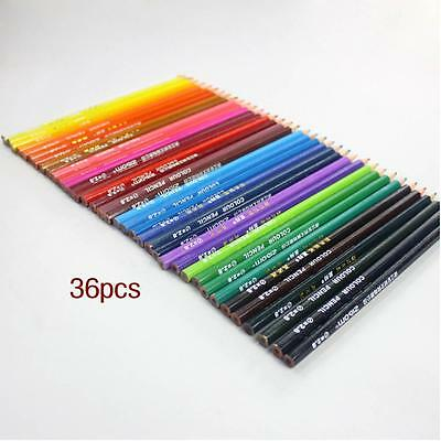 36 Colored Pencils for children Coloring Books Drawing Easy color Environment PK