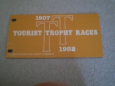 ISLE OF MAN Presentation Pack 1982 TOURIST TROPHY RACES TT RACE