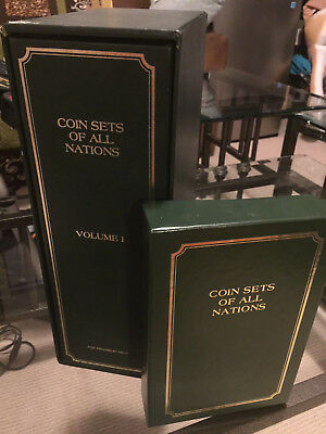 Coin Sets of All Nations Franklin Mint Volume 1 lot of 23 sets