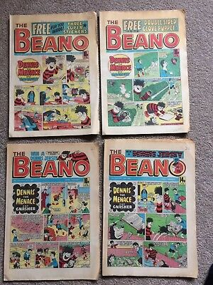 38 Copies Of The Beano Job Lot Bundle Comics Date From Jan - Oct 1985