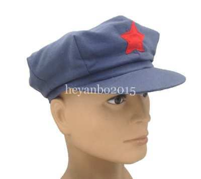 World War Army Hats Chinese Red Army Militaire Military Cotton cap SIZE XL