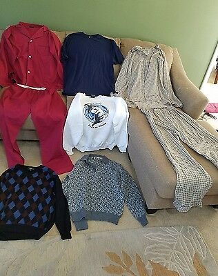 Mens Xlarge clothes mixed lot of 8 (pbs1)
