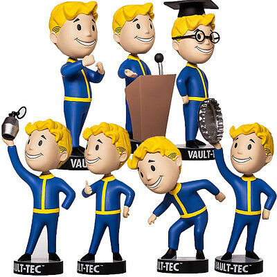 Fallout 4 Vault Boy 111 Series 2 Bobblehead Action Figure Bethesda Toy Model