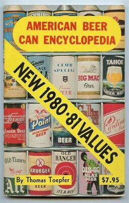 American Beer Can Encyclopedia New 1980-81 Values