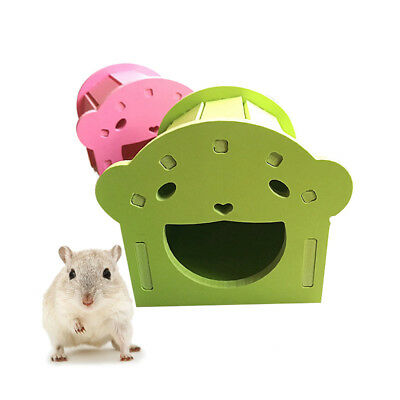 Pet Hamster House Hedgehog Diy Cave Guinea Pig Cabin Sleep