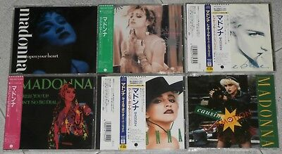 MADONNA - BIG Collection LOT of 40 RARE CD singles 1986/2000 JAPAN - Perfect!