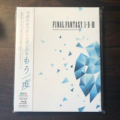 FINAL FANTASY I.II.III ORIGINAL REVIVAL, Video Game Music Soundtrack, US SELLER