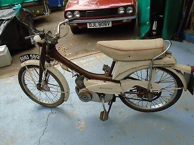 1968 raleigh RM9+1 vintage moped