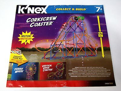 MICRO KNEX INSTRUCTION MANUAL ONLY #50025 Loopin Lightning Coaster Book