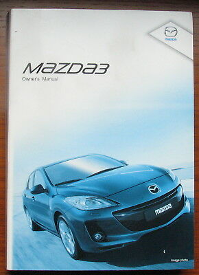Mazda 3 Owner Manual And Service Record Book