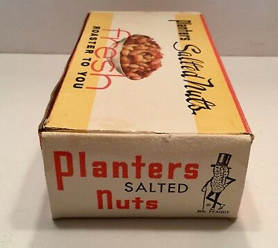 Vintage Planters Box Mr. Peanut Nut Advertising Wilkes-barre Pa Character Old