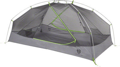 Nemo Equipment Inc. Galaxi 2P Shelter with Footprint: Birch Leaf Green 2-person